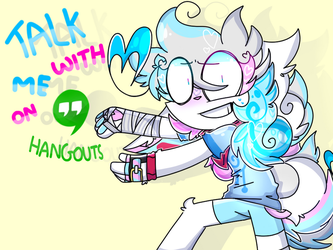 talk with me on hangouts by Lolalovesiwafflelove