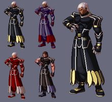 Original Zero kof XIII by shadowbrand-haze
