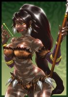 League Of Legend - Nidalee by Romehamu