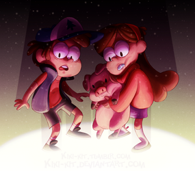 Mystery Twins by kiki-kit