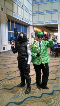 Riddle Me This, Winter Soldier by HarbingerAluvian