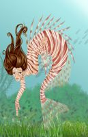 Lionfish Mermaid by evolra