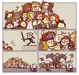The Witcher 3, doodles 251 by Ayej