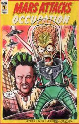 Mars Attacks Sketch Cover Commission by timshinn73