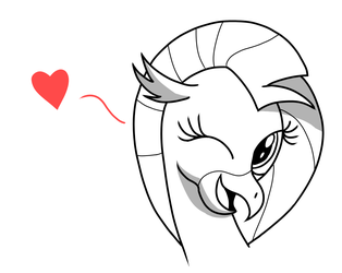 Quick n' Cute Siverstream by NoIDAvaliable