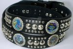 Day of The Dead Leather Belt by creativerampage