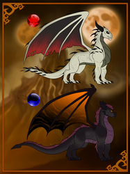 Halloween TLoS Dragons by Shaiger