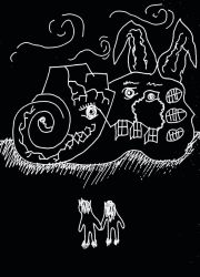 Lovers: I fear rabbit and snail hybrids by halloweenkid