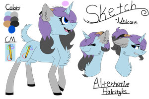 Ponysona Ref Sheet by TheKittyKatUnion