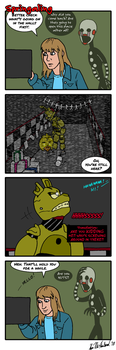 Springaling 340 : Caping the Bull by Negaduck9