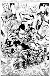 JUSTICE LEAGUE Issue 18 COVER by JoePrado2010