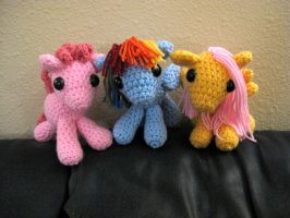 My Little Pony - Baby Ponies Group Pic by kaerfel