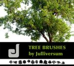 HIGH RES Tree Brushes by Julliversum