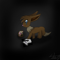 I draw better in the dark by pokebulba