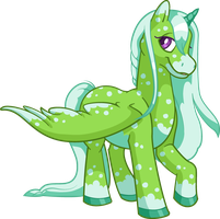 Speckled Uni by Tibby-Kitty
