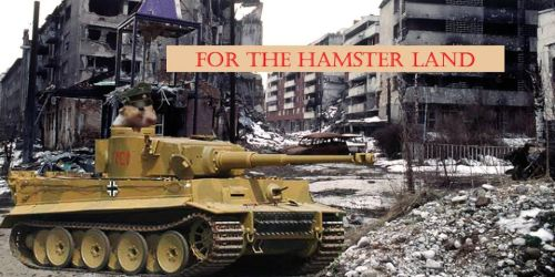 Tank Commander (For The Hamster Land) by PIDKID