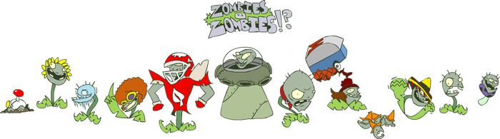 The ZOMPLANTS! by DevianJp824