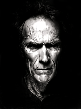 Clint Eastwood by donvito62