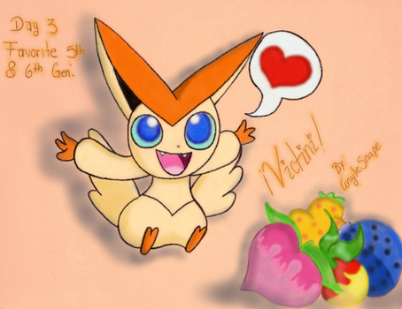 30DDC Day3Victini by AngilieSnape