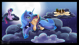 Everybody loves Luna by BlackFreya