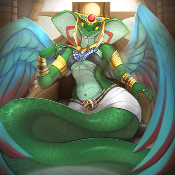 Wadjet by Scappo