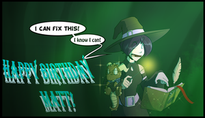 Happy birthday mordacaiMT! by HiSS-Graphics