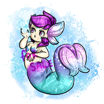 Mermay Mermaid 1 [SOLD] by syrcaid