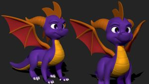 SpyroWIP by Lemurfeature