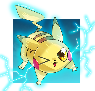 Zappy pikachu by EverlastingDerp