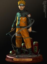 NARUTO by 3dsquid