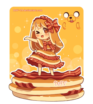 Bacon Pancake by DAV-19