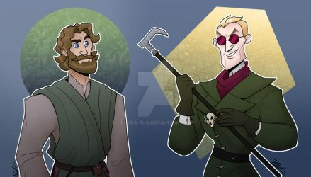 DnD: The Monk and the Warlock
