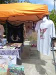 My Vending Booth and Products and T-shirts by StephanieSmall