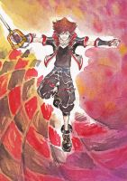 KH3 Sora - and maybe, Light will prevail! by DarkGreyHeroine