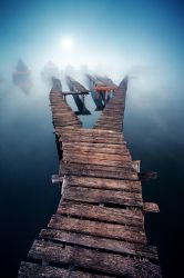 The Mist by arbebuk