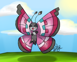 Happy Vivillon