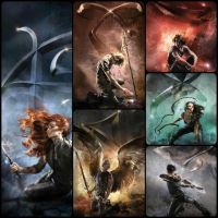 2015 Shadowhunters Re-Released Covers by far-eviler
