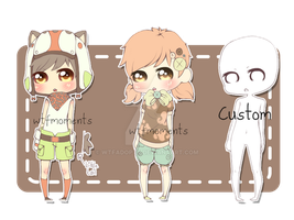 Cute adoptables auction [closed] by WTFadopts
