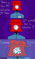 Gift - Phone Guy Comic Strip by CrimsonStar2432