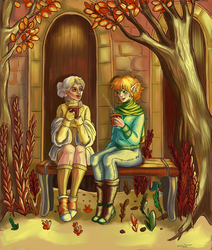 Cocoa for Trevelyan and Lavellan by Io-Zoi