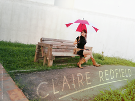The irony of Claire Redfield, where? by VickyxRedfield