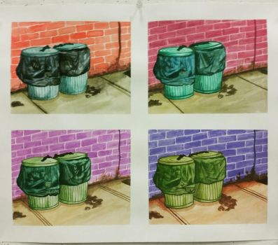 just two trash cans by miss-somnis