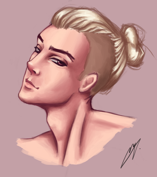 Blonde guy by Go0wy