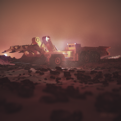 Morning on Mars. by archy13