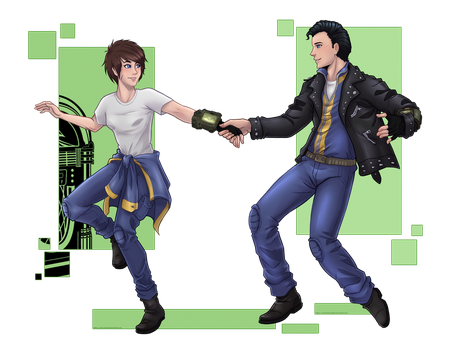 [Collab] Dance, dance by Wastelands-Knight