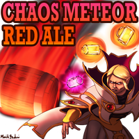 Commission: Chaos Meteor Red Ale by MarikBentusi
