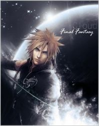 Cloud-Final Fantasy by BHD-666