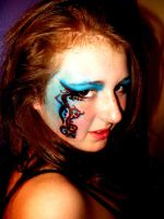 GCSE photography-makeup art 7 by MissMiggins