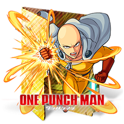 One Punch Man 2 Folder Icon by Kiddblaster