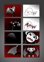 Bloodthirsty Demon (Request) by KittyComics